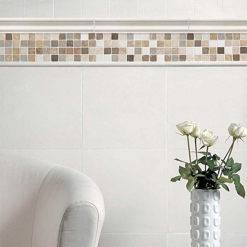 Champagne Honed Limestone Tiles 12x12