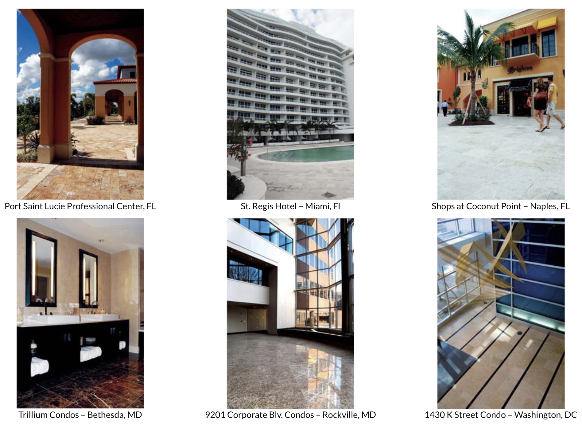 explore commercial tile projects that